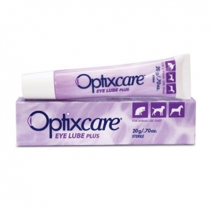 Opticare Eye Lube Plus akių tepalas su hialuronu, 20 g